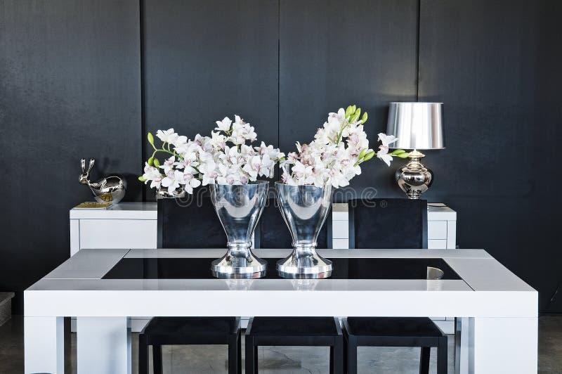 Binnenlands ontwerp in modern huis royalty-vrije stock foto