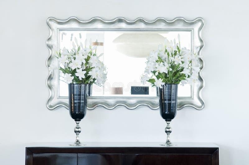 Binnenlands ontwerp in modern huis royalty-vrije stock foto's