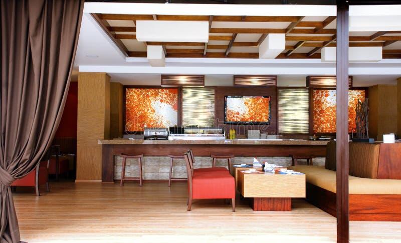 Binnenlands ontwerp - Restaurant royalty-vrije stock foto's
