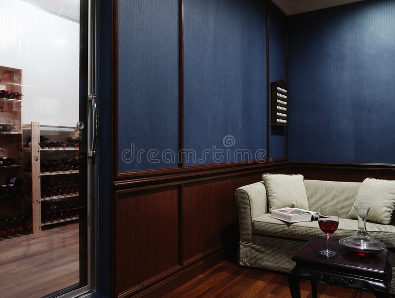 Binnenlands ontwerp - ruimte royalty-vrije stock afbeelding