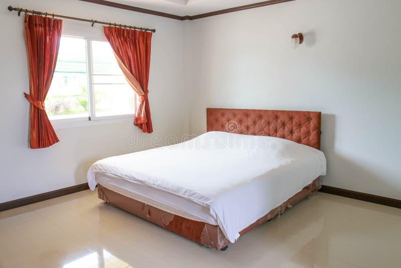 Binnenlands Ontwerp: Slaapkamer stock foto