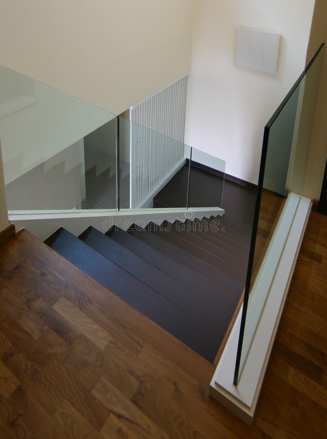 Binnenlands ontwerp - trap stock foto
