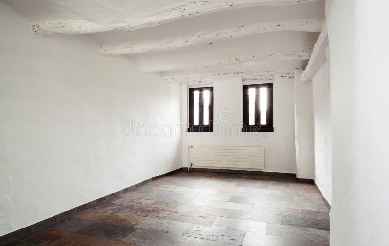Binnenlands rustiek huis stock fotografie