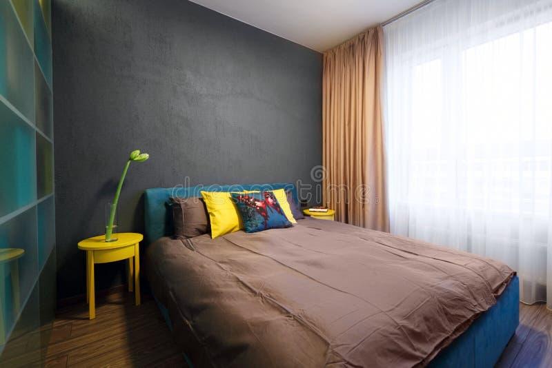 Binnenlands - slaapkamer royalty-vrije stock foto's