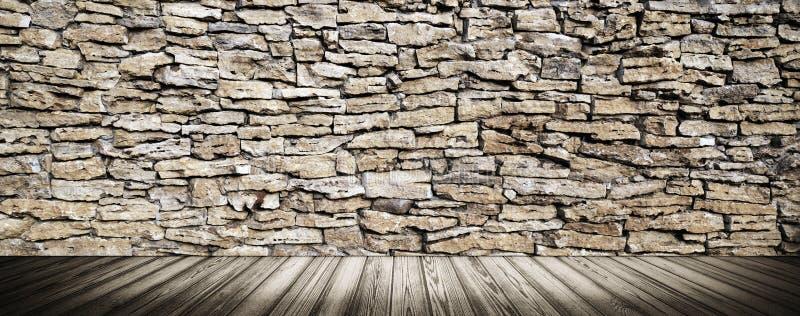 Binnenlands textuurbehang het 3d teruggeven royalty-vrije stock afbeelding