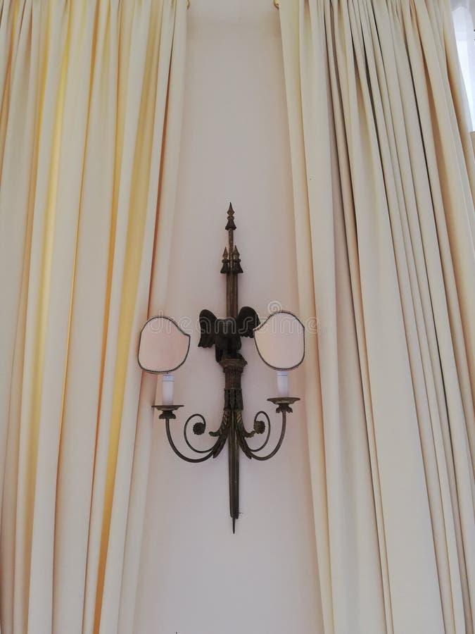 Binnenlandse details van Sissi Palace stock afbeeldingen