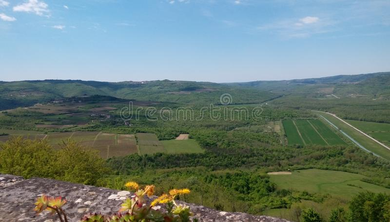 Binnenlandse Istria royalty-vrije stock fotografie