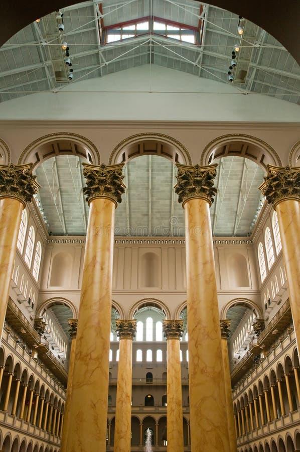 Binnenlandse kolommen royalty-vrije stock foto