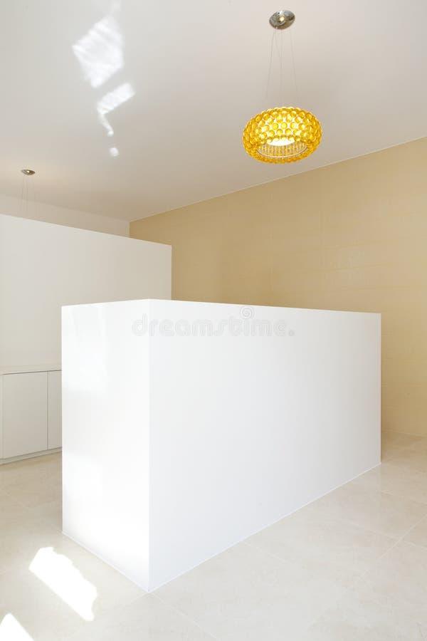 Binnenlandse moderne ontvangst stock foto