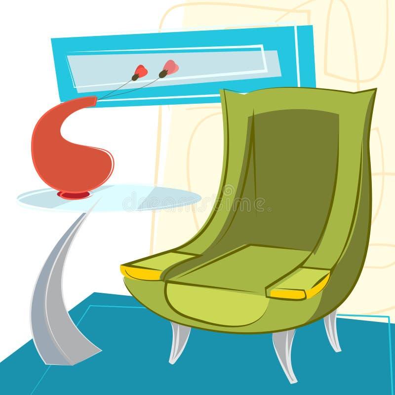 Binnenlandse ontwerpvector royalty-vrije illustratie