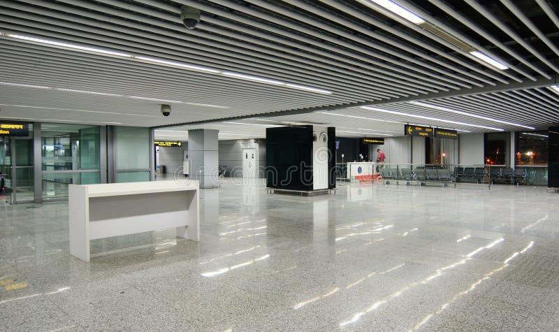 Binnenmening van de luchthaven in Kolkata, India royalty-vrije stock afbeeldingen