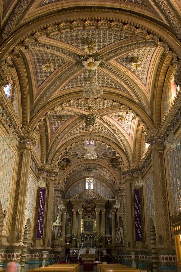 Binnenmening van Onze Dame del Carmen royalty-vrije stock afbeelding