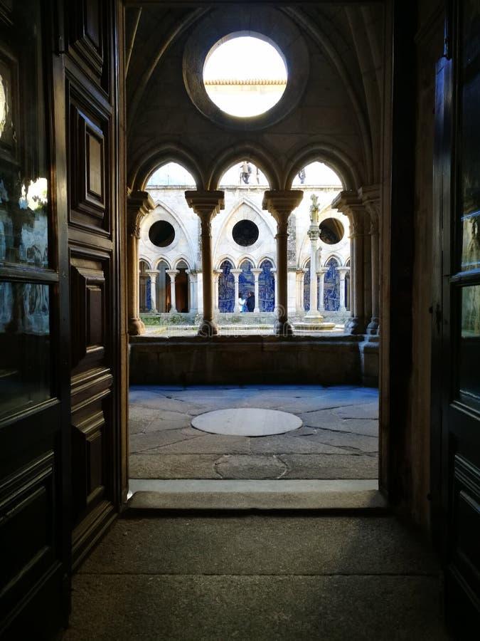 binnenplaats royalty-vrije stock afbeelding