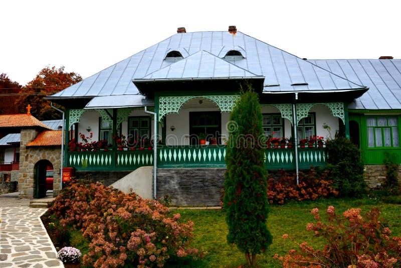 Binnenplaats van Klooster Suzana royalty-vrije stock foto's