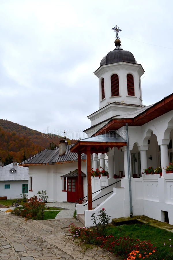 Binnensuzana-klooster stock foto