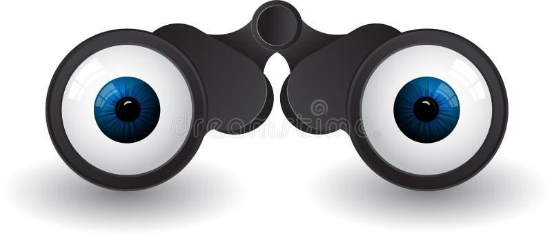 Download Binoculars stock illustration. Image of glass, look, lens - 20418223