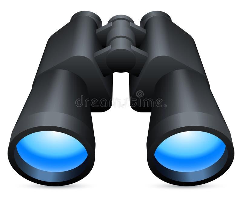 Binoculars. vector illustration