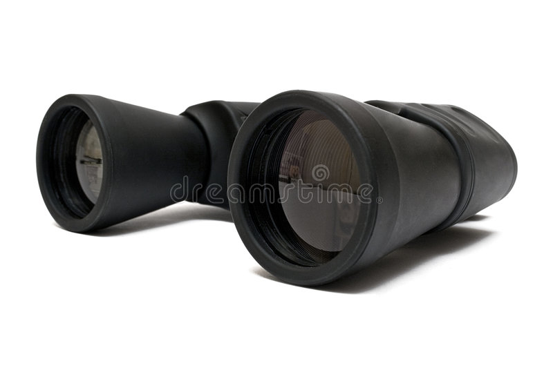 Binoculars Back - Side View Stock Images