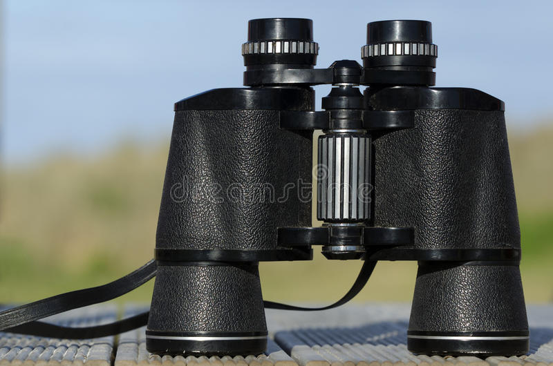 Binoculars Field Glasses royalty free stock photo