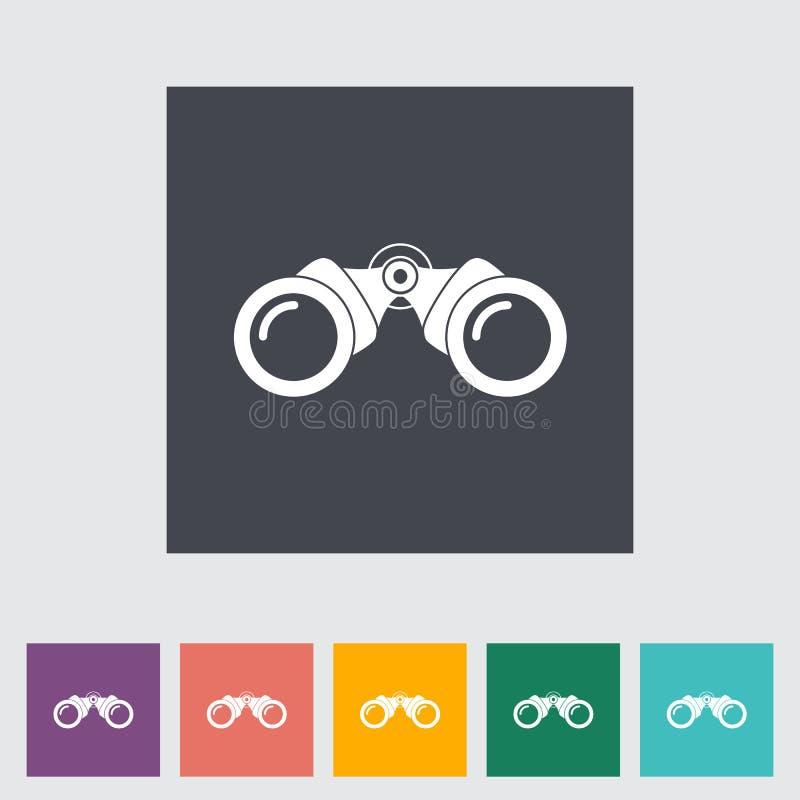Free Binoculars Flat Icon Stock Photo - 33998130