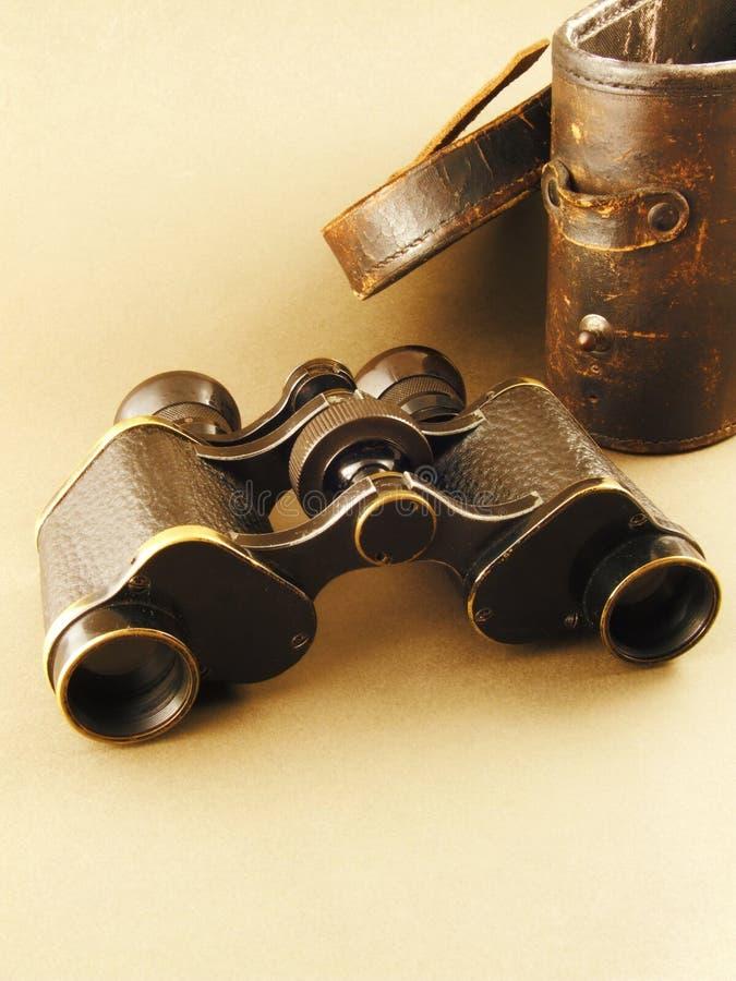 binoculars isolated vintage στοκ εικόνες