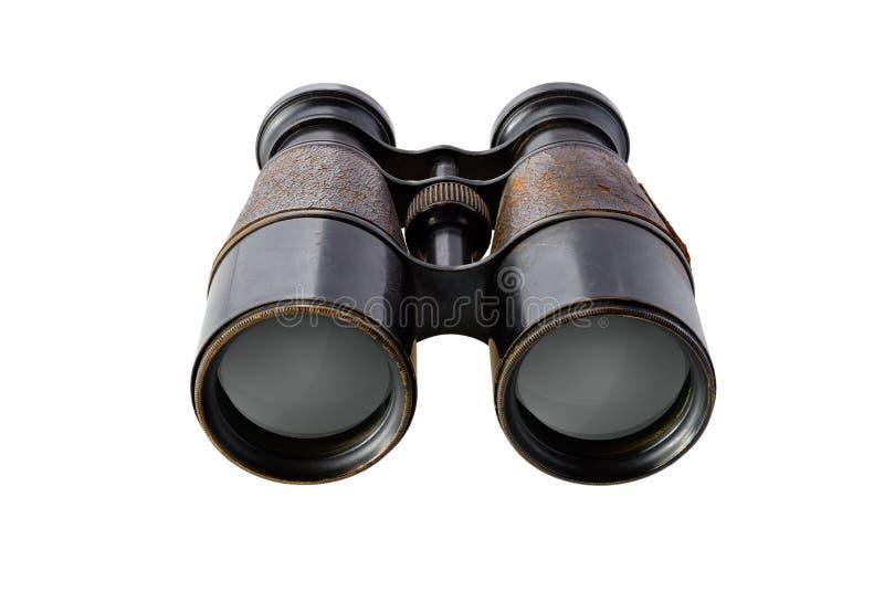 binoculars isolated vintage στοκ φωτογραφίες