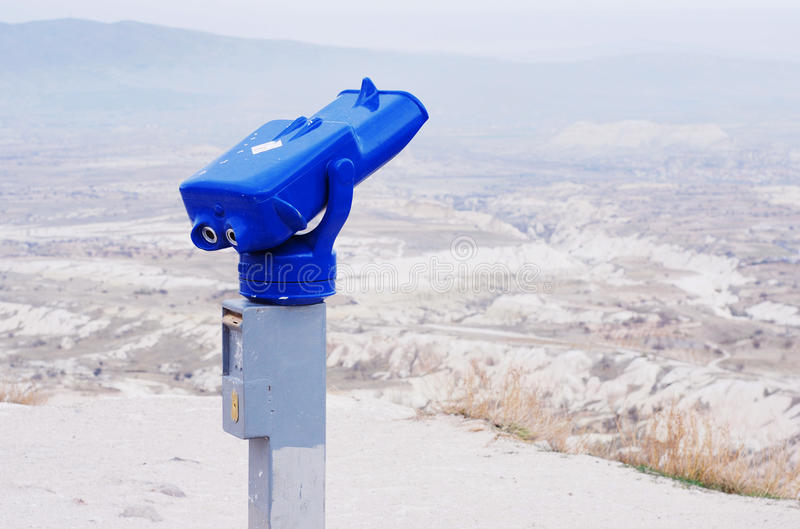 Download Binoculars for sightseeing stock image. Image of blue - 11013509