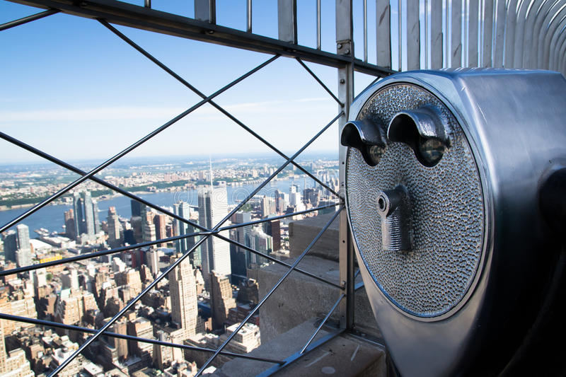 Download Binoculars To Observe The City Stock Photo - Image: 33341074