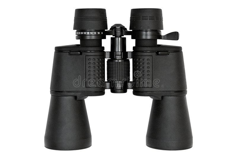 Download Binoculars - Top View W/ Path Stock Photo - Image: 522104