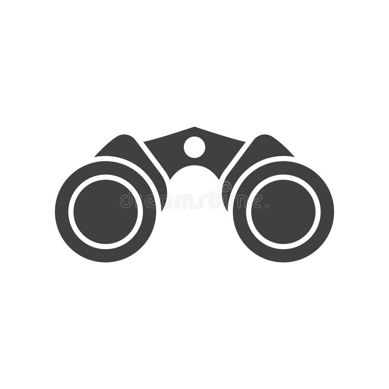 Binoculars Vector Icon stock illustration