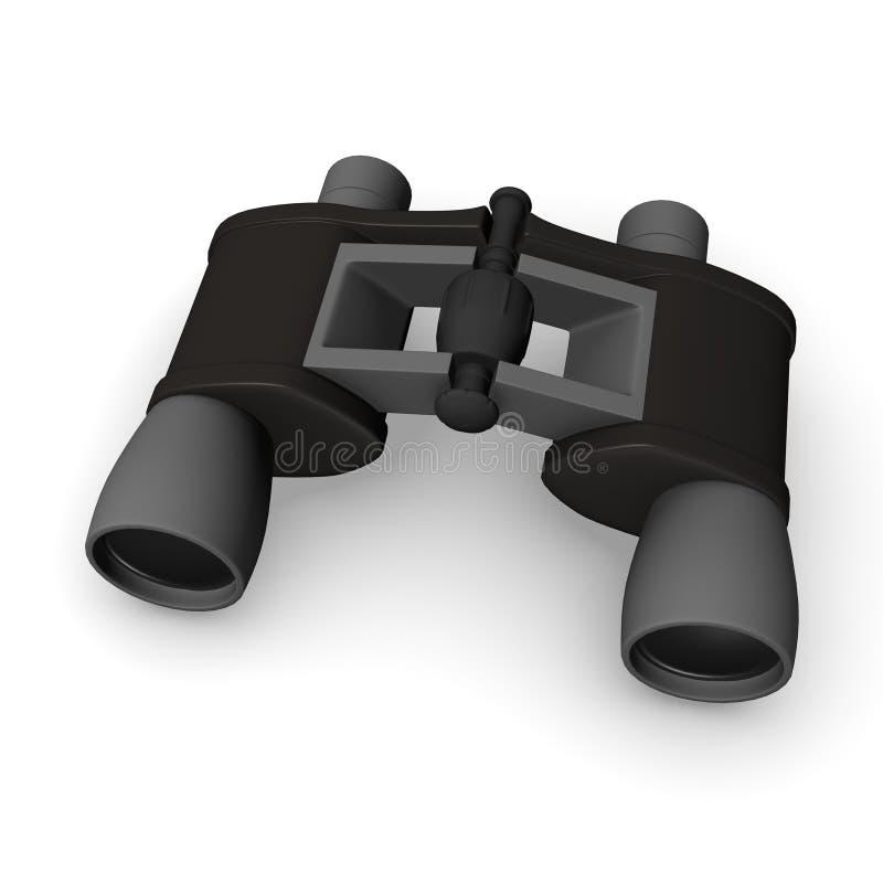 binokulärt vektor illustrationer