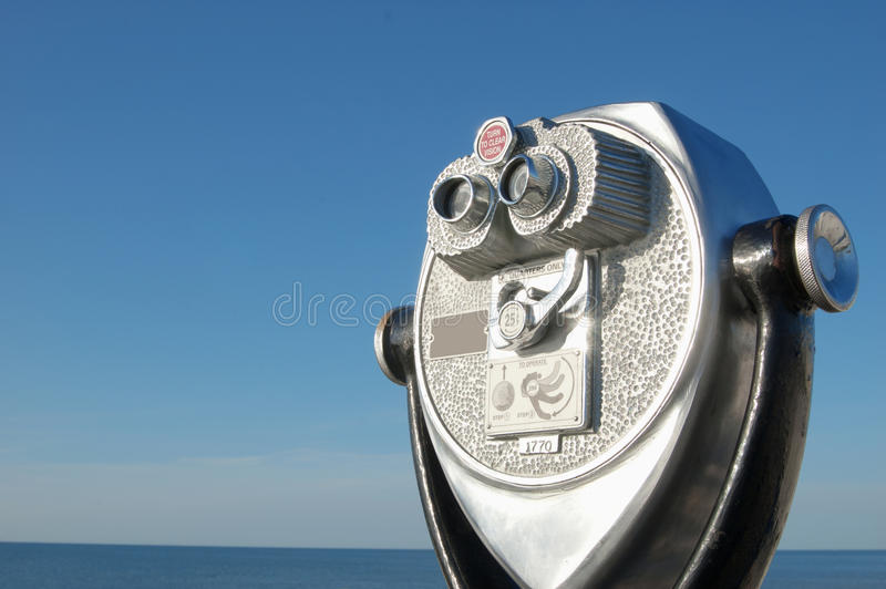 Binokularer szenischer Projektor lizenzfreie stockfotos