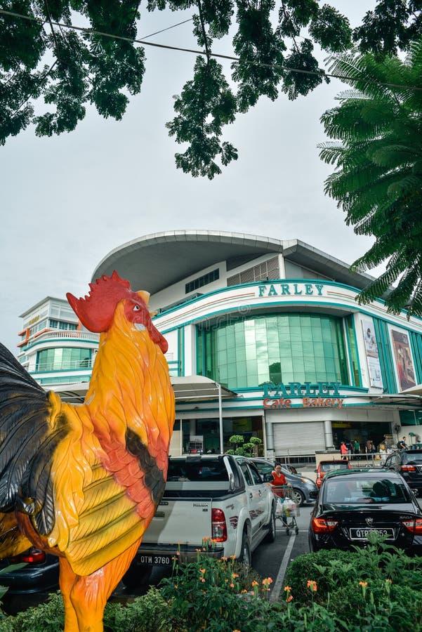 Bintulu, Sarawak/Μαλαισία, στις 2 Οκτωβρίου 2017: Το Farley είναι ένα δημοφιλές mart σε Bintulu στοκ εικόνες
