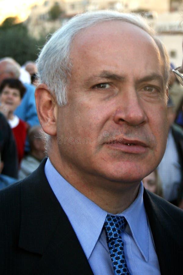 Binyamin Netanyahu royalty free stock photo