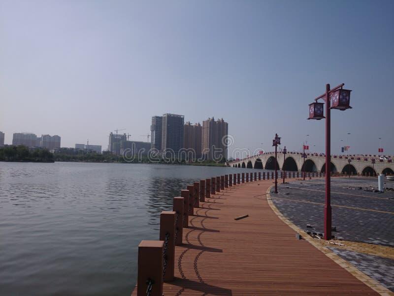Binzhou, Shandong China stockbild
