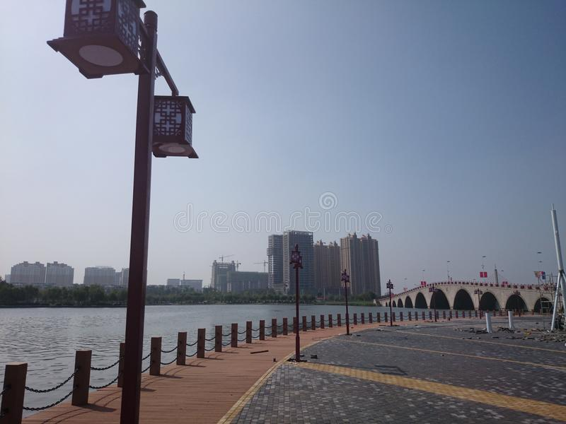 Binzhou, Shandong Chine photographie stock libre de droits