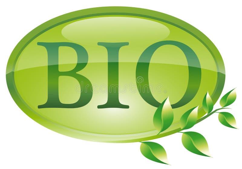 Bio illustration de vecteur