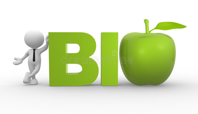 Download Bio stock illustration. Image of character, diet, nutrition - 28651323