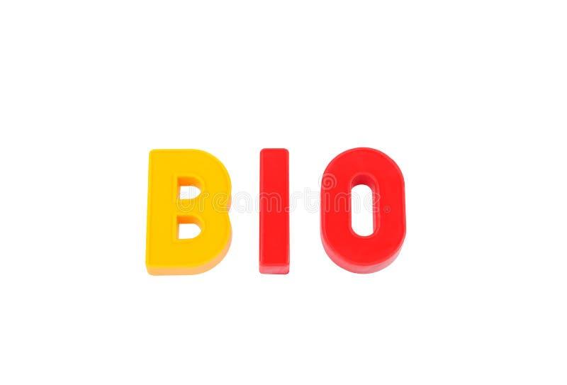 Bio- fotografie stock