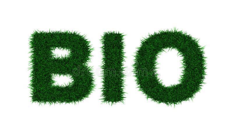Bio stock illustratie