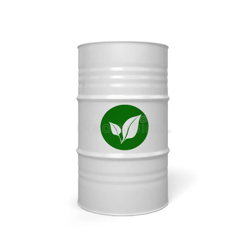 Bio brandstof vector illustratie
