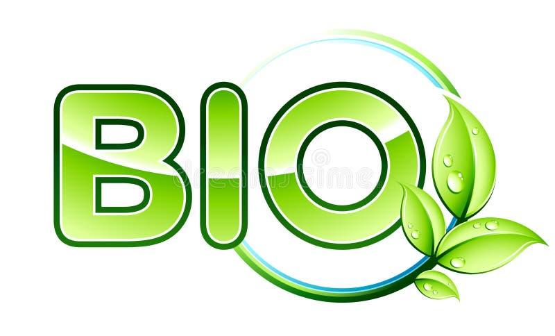Bio design royalty free illustration
