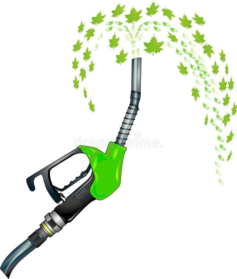 Bio- diesel illustrazione vettoriale