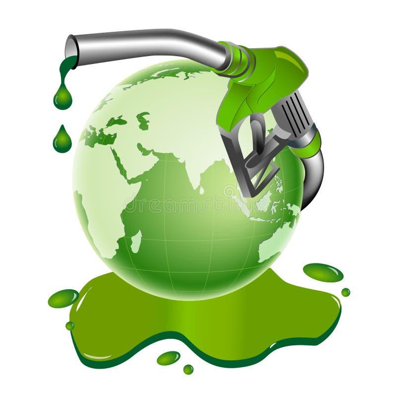 Bio diesel illustration de vecteur