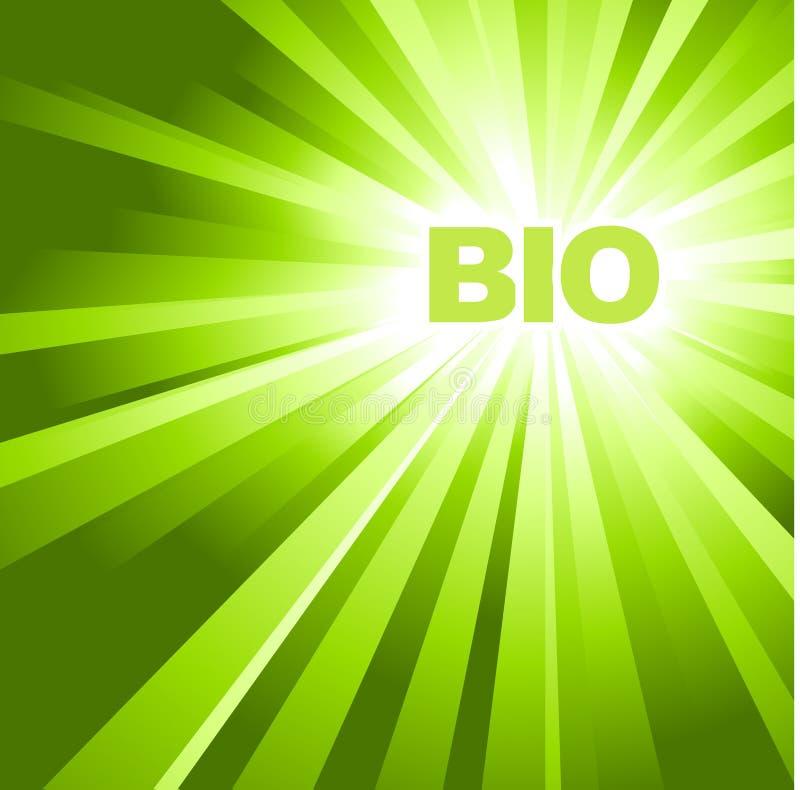 BIO / ECO / organic poster royalty free stock photo