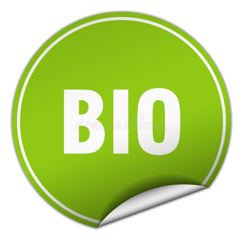 Bio etiqueta ilustração do vetor