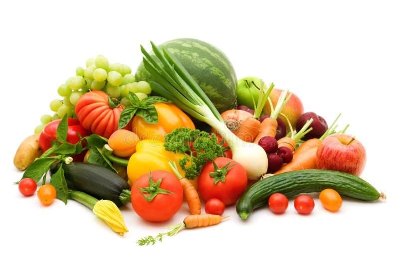 Bio fresh fruits stock photography