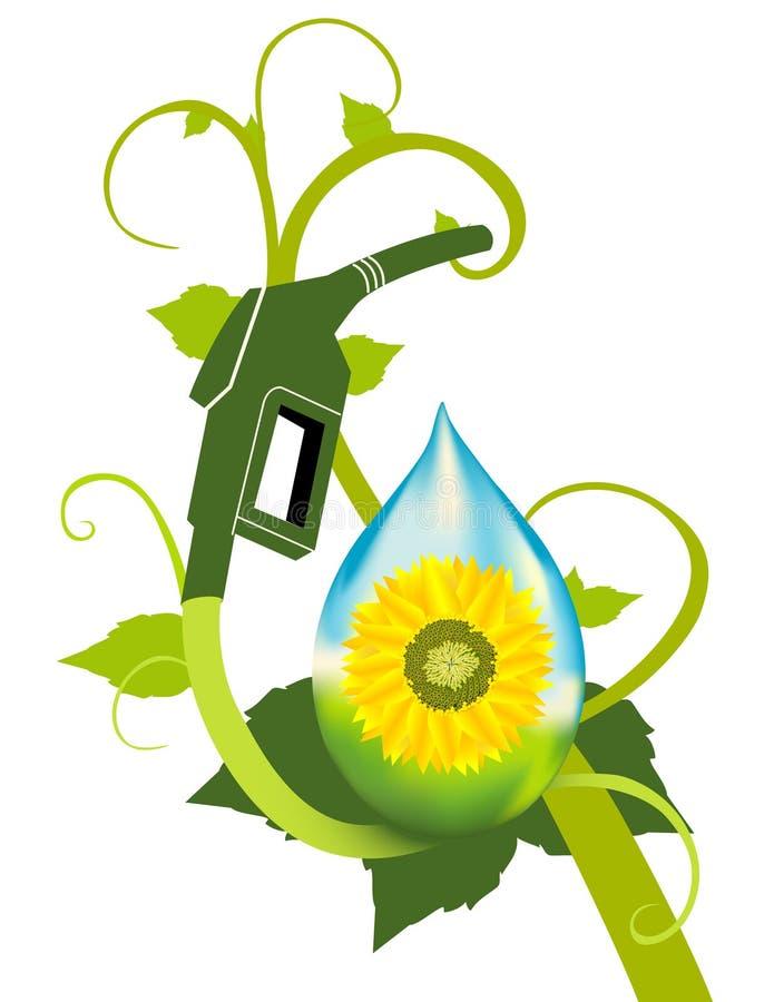 Bio Fuel Plant royalty free illustration