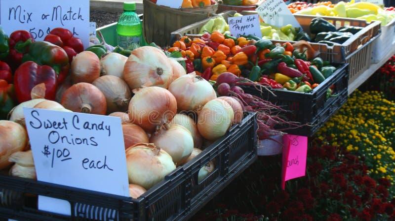 Bio-Gemüse und Obst und Blumen, frisch stockfotos