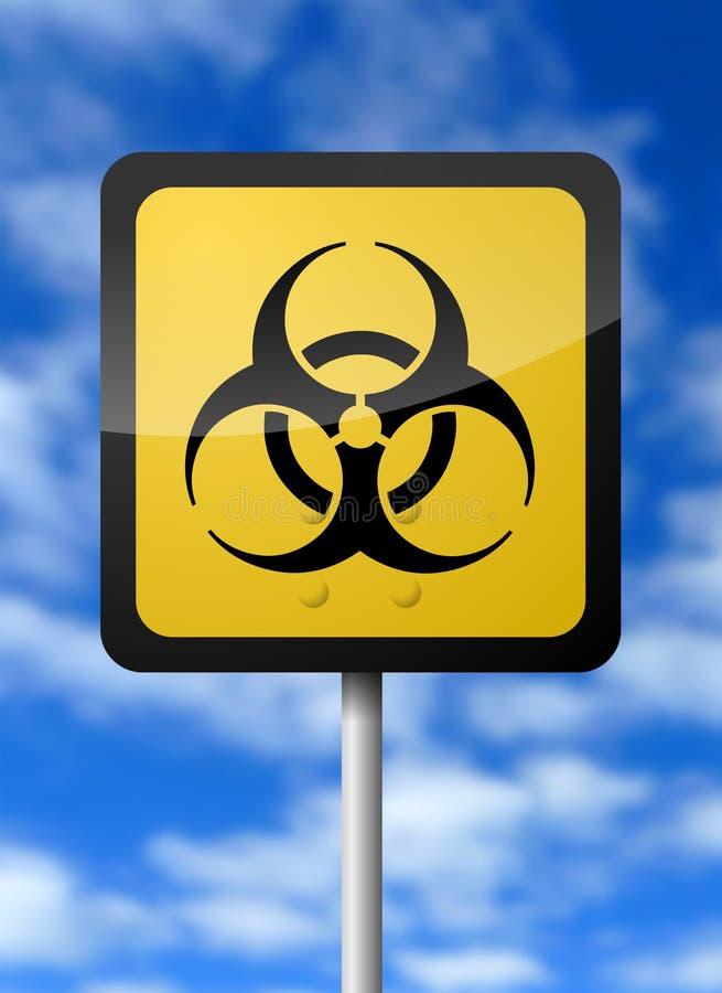 Download Bio-Hazard Sign stock illustration. Image of generated - 9222997